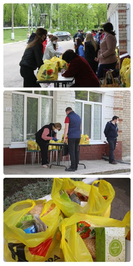 Опубликовано видео о повторной выдаче продуктовых наборов в школах Горловки, фото-2