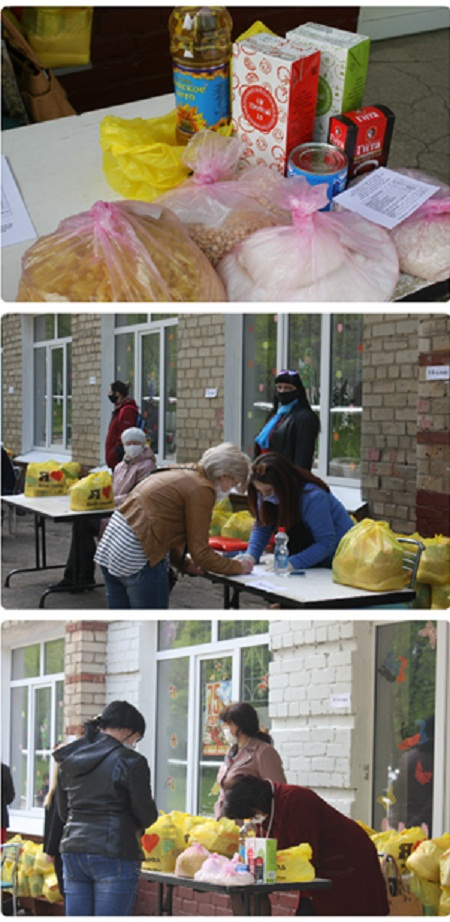 Опубликовано видео о повторной выдаче продуктовых наборов в школах Горловки, фото-3